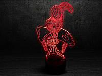 3D Лампа Человек-паук