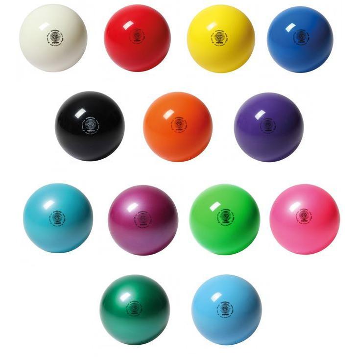 Мяч гимнастический TOGU d.19 см, 400 г (17 цветов в ассортименте)
