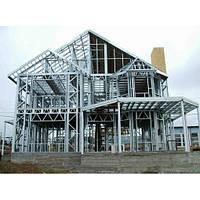 Строительство сложных конструкций по каркасной технологии