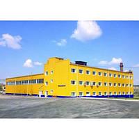 Строительство склада быстровозводимого для сырья