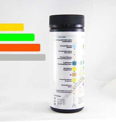 Визуальные тест-полоски DAC на 10 показателей, фото 2