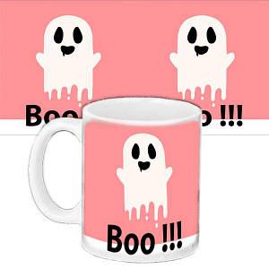 Чашка з малюнком Halloween Привид