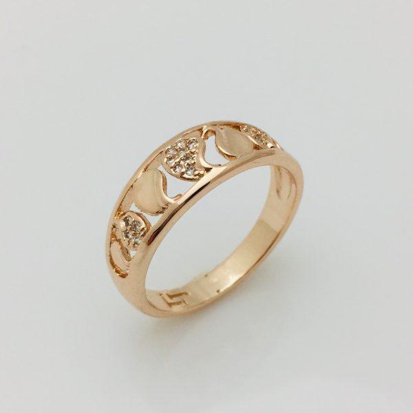 Кольцо Ласка, размер 17, 18 ювелирная бижутерия