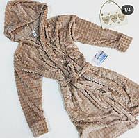 Женский махровый халат, фото 1