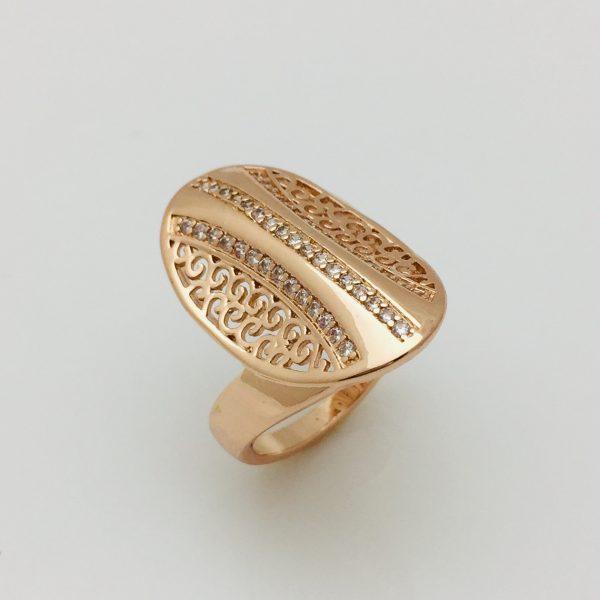 Кольцо Перстень, размер 19 ювелирная бижутерия