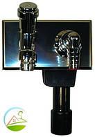 HL406 Сифон для стиральной и посудомоечной машины DN40/50 с канализацией и краном