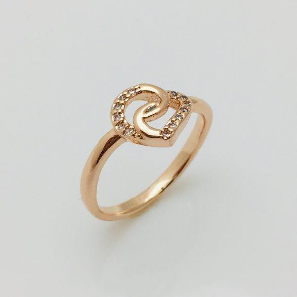 Кольцо, размер 17, 18, 19 ювелирная бижутерия