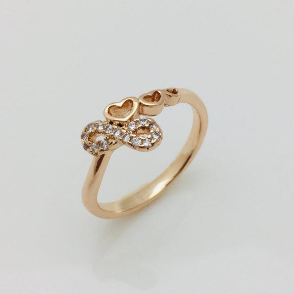 Кольцо, размер 17, 19 ювелирная бижутерия