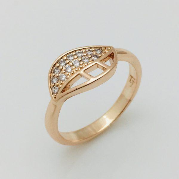 Кольцо, размер 17, 18 ювелирная бижутерия