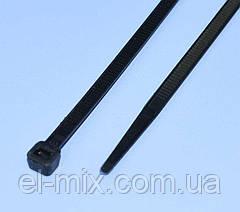 Хомут пластиковий (стяжка) 250х5.0мм чорний, ProFix, 8-0217Bk, упак.-100шт