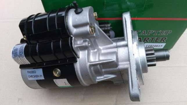Стартер МТЗ 12В 2,8 кВт УСИЛЕННЫЙ (DECARO)