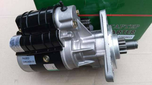 Стартер МТЗ 12В 2,8 кВт УСИЛЕННЫЙ (DECARO), фото 2
