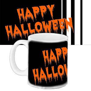 Кружка с принтом Halloween Coming