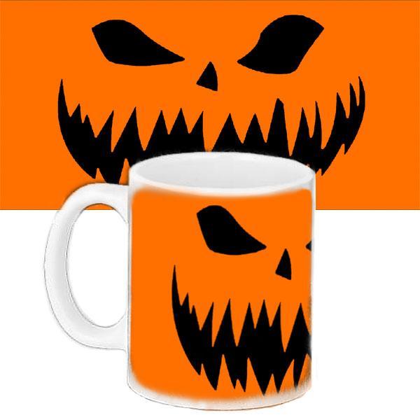 Кружка с рисунком Halloween Жуткий Взгляд