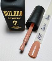 Каучуковое базовое покрытие Cover Base Milano №005 12ml