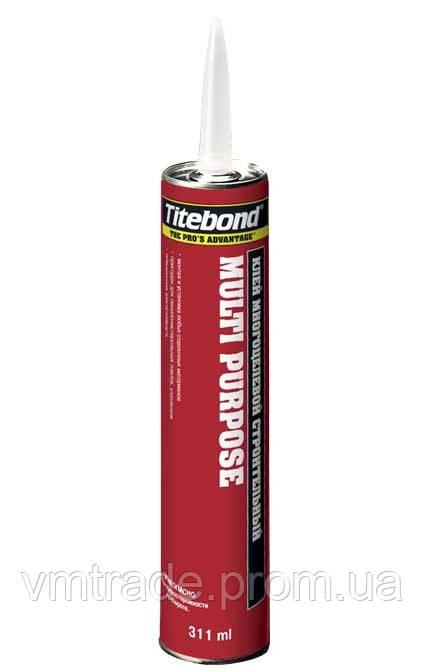 Клей универсальный монтажный, влагостойкий на основе синтетических каучуков (TitebondMulti-Purpose) 300 мл