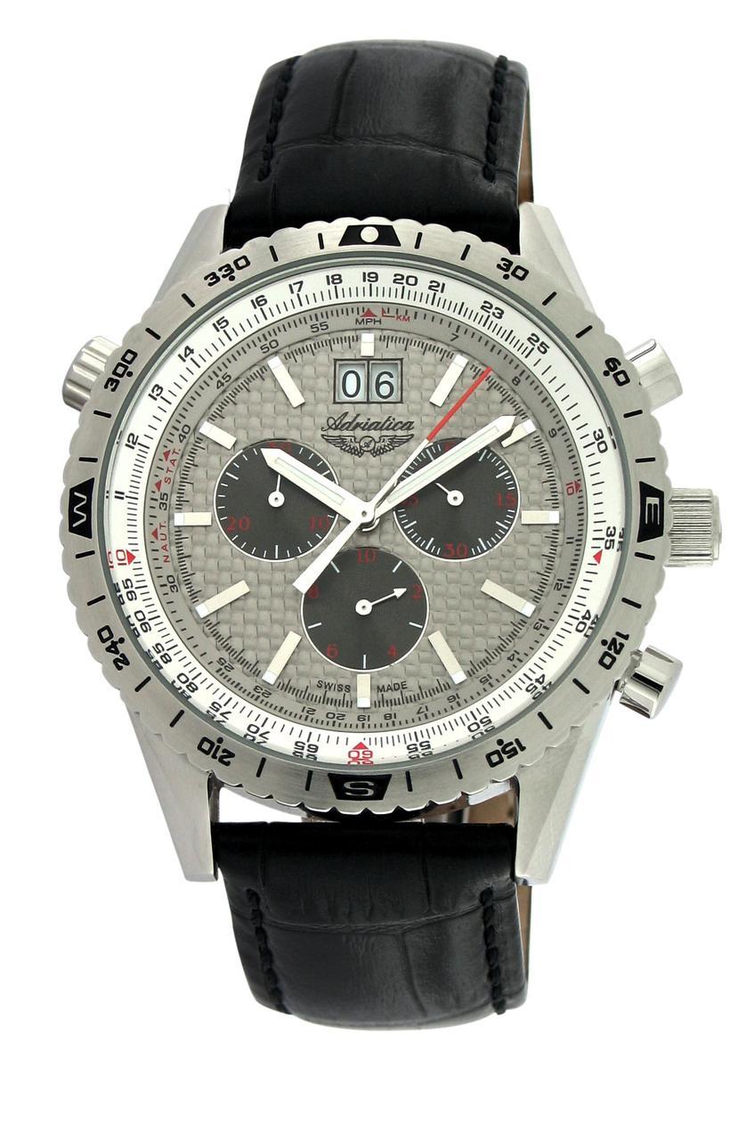 0c47a2f23628 Мужские Часы Adriatica 8172.5217CH (52651) — в Категории