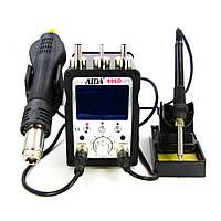 Паяльная станция AIDA 996D фен, паяльник (ID:13813)