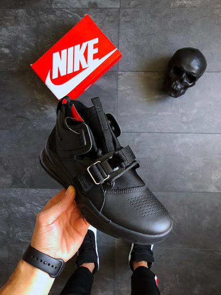 7b541576 Купить Женские кроссовки Nike Air Force 270 Triple Black АТ-760 в Харькове  на Барабашово, цена от производителя, оптом и в розницу - 800139165