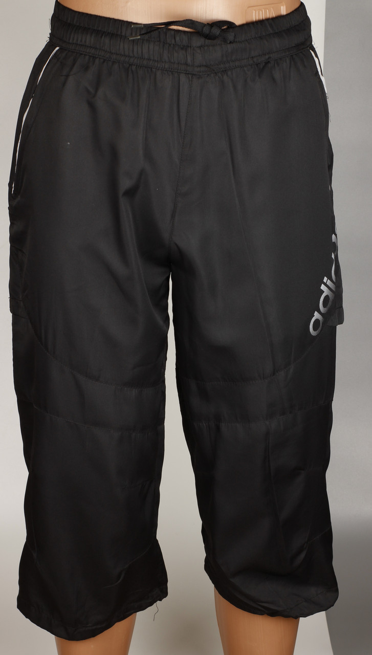 Бриджи шорты мужские черные Adidas Размеры М
