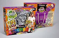 "Детский набор для творчества Комплект креативного творчества ""My Color Bag"" сумка-раскраска 6065DT, фото 1"