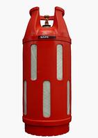 Баллон газовый композитный 47л. с безопасным вентилем