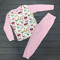 Пижама для девочек  оптом р. 7-8-9 лет