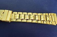 Браслет для часов метал 18 Gold