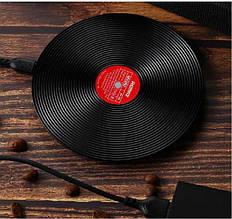 Стильная беспроводная зарядная станция Remax RP-W9 Vinyl Series Wireless Chargers Black