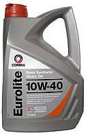 Моторное масло полусинтетика Comma Eurolite 10w40 4л