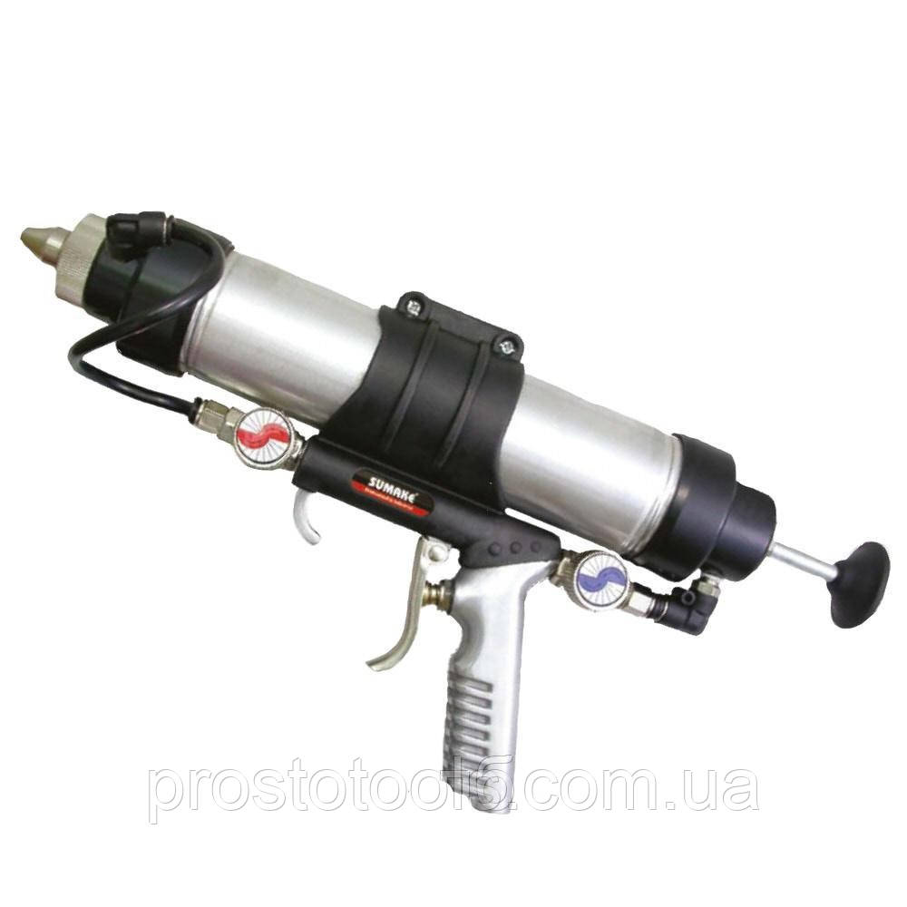 Пневмошприц для туб(500ml) многофункциональный Sumake  ST-66413