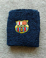 Напульсник синий Барселона