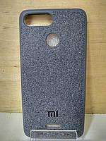 Силиконовый чехол Textile Case Grey Xiaomi Mi8