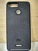 Силиконовый чехол Textile Case Black Xiaomi Mi8