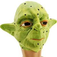 Латексная маска Мастер Йода