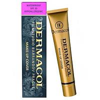 Тональный крем Dermacol make up cover. 30 мл  (Копия)Дермакол, фото 1