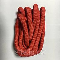 Скакалка гімнастична El Leon De Oro Deportiva 3м (15 кольорів в асортименті) Червоний