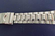 Браслет для годинника метал 18 Silver