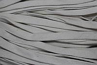 Шнур плоский ХБ 20мм (50м) св.беж, фото 1