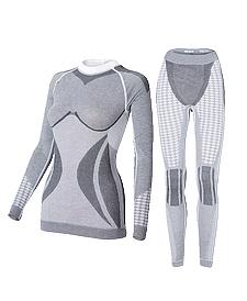 Комплект женского термобелья Haster Alpaca Wool L/XL Серый