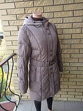 Пуховик, курта женская зимняя на натуральном пуху SNOW, фото 2