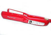 Керамический утюжок для волос Kemei KM-1282