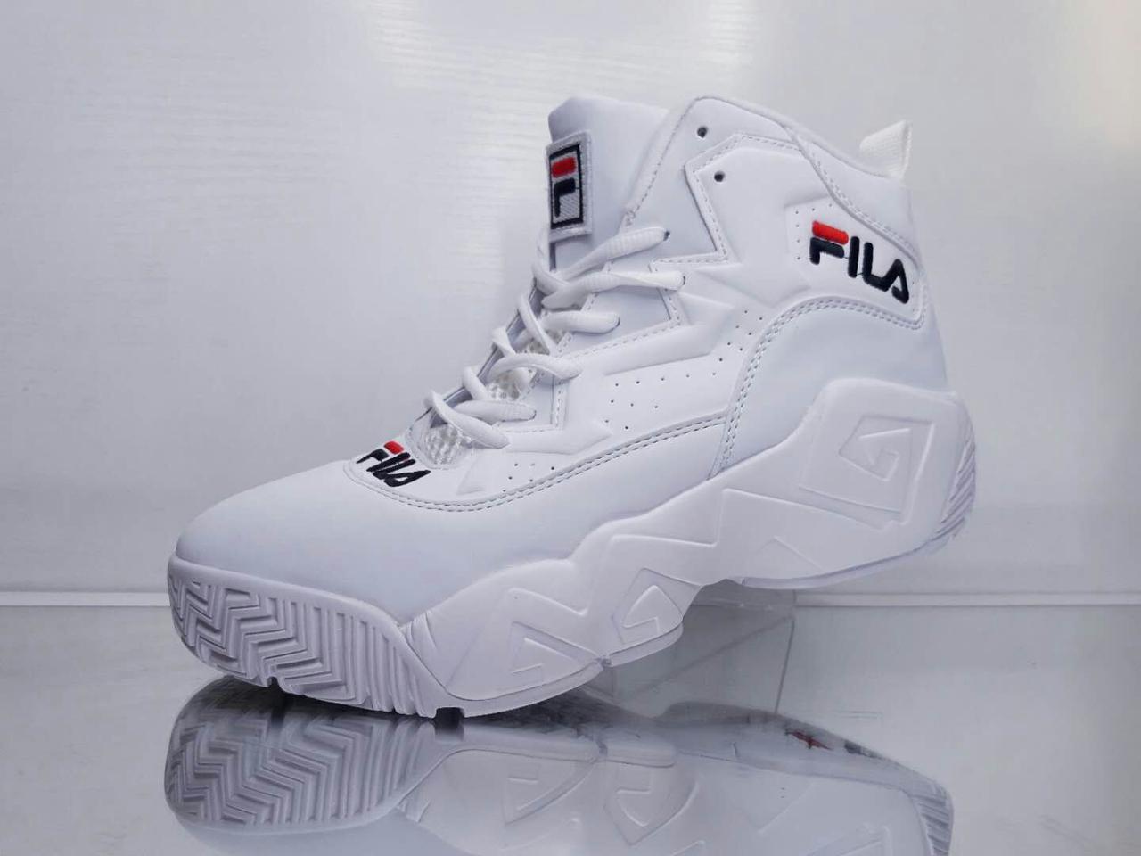 Кросівки Fila Jamal Mashburn MB1 Retro Limited Edition Білі (Репліка ... fd5faee45dfa6