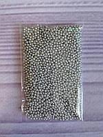Посыпка кондитерская, серебро, 1 мм