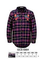 Рубашка для девочек оптом, Glo-story, 134-164 см,  № GCS-6884