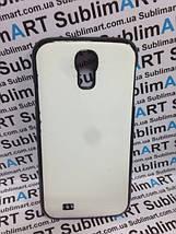 Чехол для 2D сублимации пластиковый на Samsung S4 черный (закругленная пластина), фото 3
