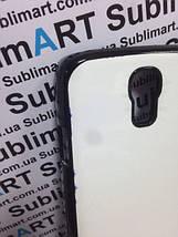 Чехол для 2D сублимации пластиковый на Samsung S4 черный (закругленная пластина), фото 2