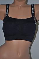 Топики BiWeieR Love Secret Без косточки чёрные и белые, фото 1