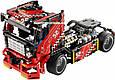 """Конструктор Decool 3360 """"Гоночный грузовик"""" 608 деталей. Аналог Lego Technic 42041, фото 4"""