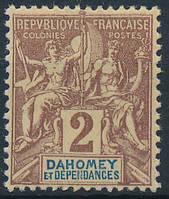 Дагомея - Dahomey 1899 2c